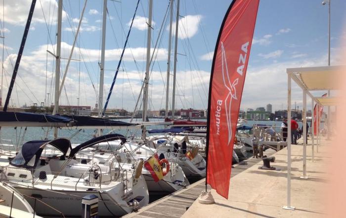Náutica AZA, presente en el Valencia Boat Show 2015